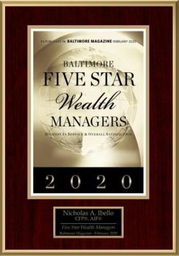 Five Star Wealth Manager - Nicholas Ibello
